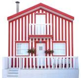 Traditionelles hölzernes Haus Stockbilder