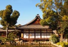 Traditionelles hölzernes Haus Stockbild