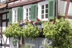 Traditionelles Half-Timbered Haus Lizenzfreie Stockbilder