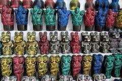 Traditionelles Handwerk Souvenirladen, Bolivien Südamerikas Lizenzfreies Stockfoto