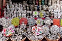 Traditionelles Handwerk Souvenirladen, Bolivien Südamerikas Lizenzfreies Stockbild