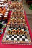 Traditionelles Handwerk Souvenirladen, Peru Südamerikas Stockbild
