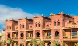 Traditionelles Haus in Ait Ben Haddou-Dorf, ein UNESCO-Bauerbe in Marokko Lizenzfreie Stockbilder