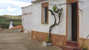 Traditionelles Haus in Alentejo lizenzfreie stockfotos