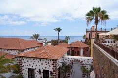 Traditionelles Haus auf Kanarischer Insel Lizenzfreies Stockfoto