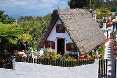Traditionelles Haus auf Madeira Lizenzfreie Stockfotos