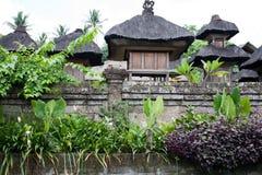 Traditionelles Haus des Balinese Stockfotografie