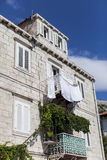 Traditionelles Haus in Dubrovnik, Kroatien Stockfotos