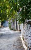 Traditionelles Haus im Dorf auf Crit. Stockfoto