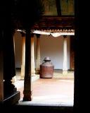 Traditionelles Haus in Indien Lizenzfreies Stockbild