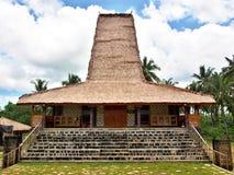 Traditionelles Haus in Sumba-Insel lizenzfreie stockfotografie