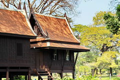 Traditionelles Haus Thailands Stockbild