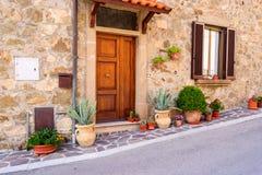 Traditionelles Haus in Toskana Lizenzfreie Stockbilder
