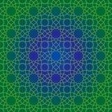 Traditionelles islamisches Muster lizenzfreie abbildung