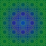 Traditionelles islamisches Muster Lizenzfreies Stockfoto