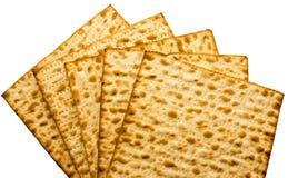 Traditionelles jüdisches Matzoblatt Lizenzfreie Stockfotografie