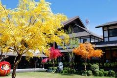 Traditionelles japanisches Dorf Stockbild