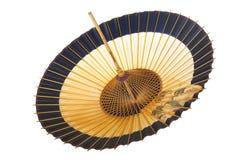 Traditionelles japanisches Regenschirm †‹â€ ‹des Bambusses und des Papiers Stockfoto