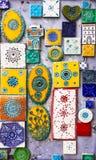 Traditionelles keramisches in Portugal stockbilder