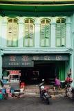 Traditionelles kopitiam, Penang, Malaysia Lizenzfreie Stockbilder