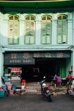 Traditionelles kopitiam, Penang, Malaysia Stockfotografie