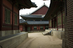 Traditionelles koreanisches Haus Stockbilder