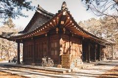 Traditionelles koreanisches Haus Lizenzfreie Stockfotografie