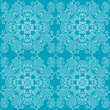 Traditionelles Muster mit Schneeflocken Lizenzfreie Stockfotos
