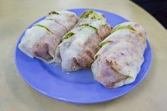Traditionelles Nyonya Lebensmittel Popiah Penangs Stockbild
