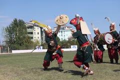Traditionelles Osmane-Bogenschießen Lizenzfreies Stockbild