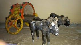 Traditionelles Paradebeispiel Bullock lizenzfreie stockbilder