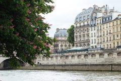 Traditionelles Pariser Stadtbild Stockfotografie
