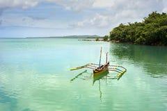 Traditionelles Philippinen-Boot stockfotos