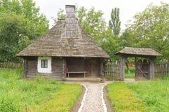 Traditionelles rumänisches Haus Lizenzfreies Stockfoto