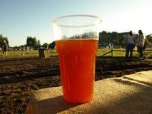 Traditionelles russisches Getränk medovuha, gemacht vom Honig stockbilder
