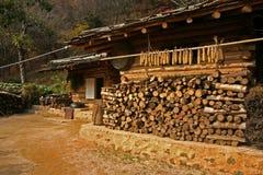 Traditionelles südkoreanisches Haus Lizenzfreies Stockfoto