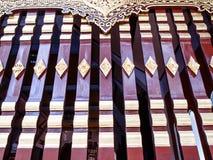 Traditionelles siamesisches Artfenster Lizenzfreie Stockfotos