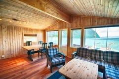 Skandinavisches haus innen  Norwegen-Hütte Nach Innen Stockfotos - Bild: 10030203