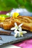Traditionelles Spanisch Torrijas (französische Toast) Nachtisch der Karwoche lizenzfreies stockbild