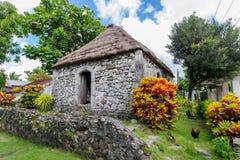 Traditionelles Steinhaus in Batan-Insel, Batanes Lizenzfreie Stockfotografie