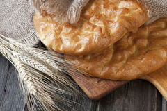 Traditionelles türkisches Brot Stockbild