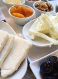 Traditionelles türkisches Frühstück auf Tabelle Lizenzfreie Stockfotografie