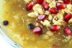 Traditionelles türkisches süßes ` Ashura-` stockbild