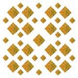 Traditionelles thailändisches Artkunstgoldmalereimuster Lizenzfreies Stockbild