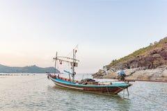 Traditionelles thailändisches fising Boot lizenzfreie stockfotografie
