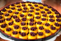Traditionelles thailändisches Nachtischgeschenk Lizenzfreies Stockfoto