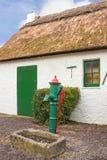 Traditionelles thatched Häuschen kerry irland Lizenzfreie Stockbilder