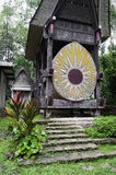Traditionelles Toraja Familiengrab Lizenzfreie Stockfotos