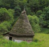Traditionelles Transylvanian Haus Lizenzfreies Stockfoto