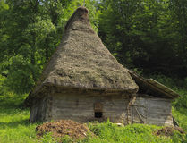 Traditionelles Transylvanian Haus Stockfotos